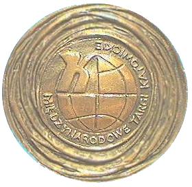 Medaile ECODOM'97 Katowice